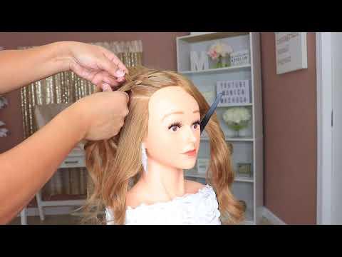 recogidos-altos-|-elegant-hair-bun-|-bridal-prom-hairstyle-for-medium-long-hair-|-peinado-facil