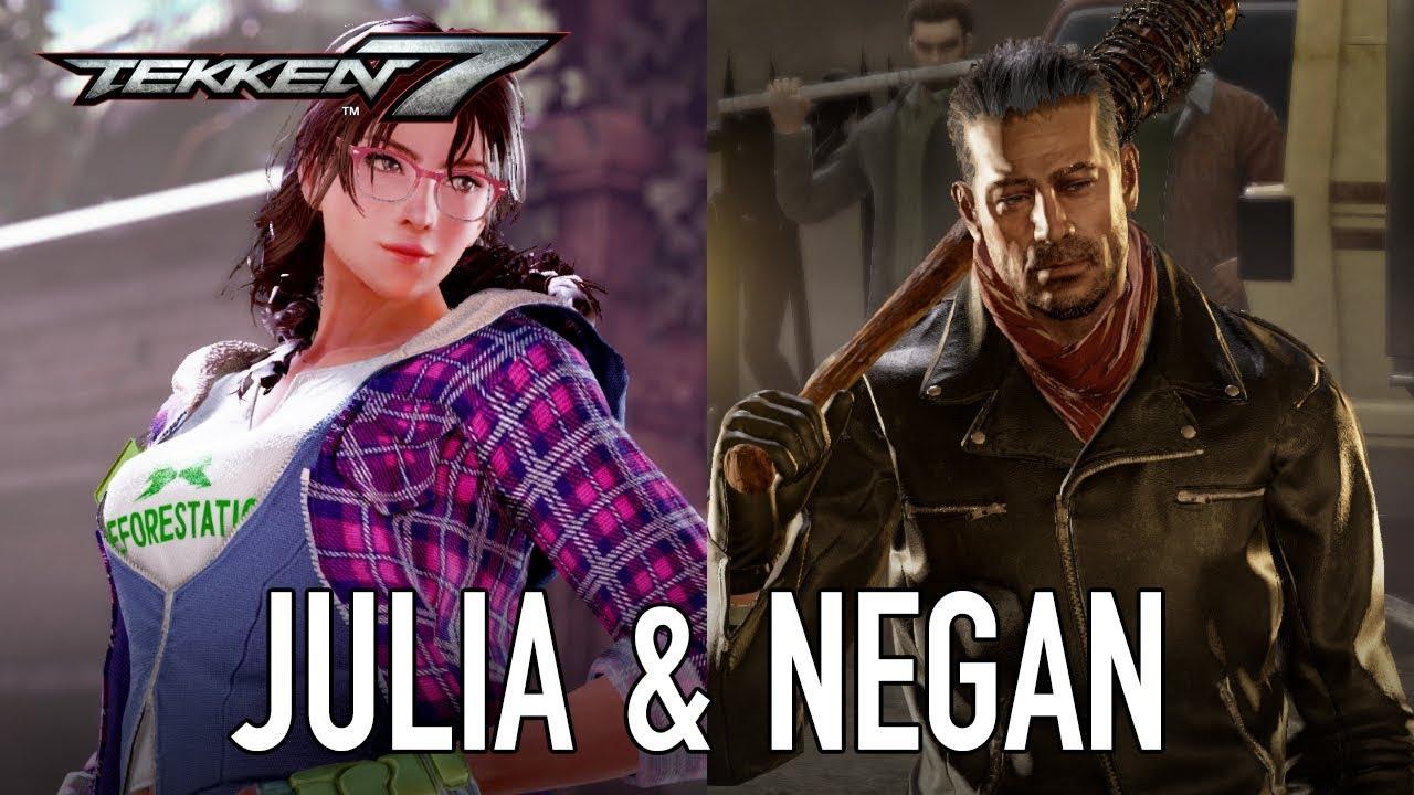Tekken 7 - PS4/XB1/PC - Julia & Negan (Season Pass 2 Character Trailer)