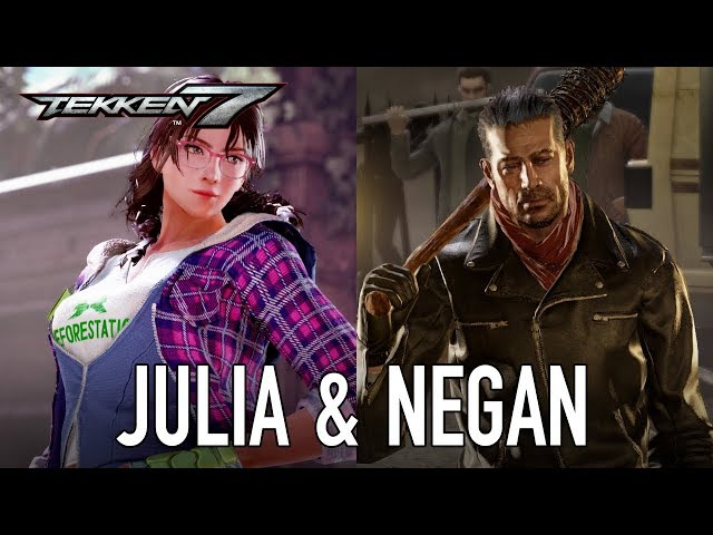 Tekken 7 - PS4/XB1/PC - Julia & Negan (Season Pass 2 Character Trailer)