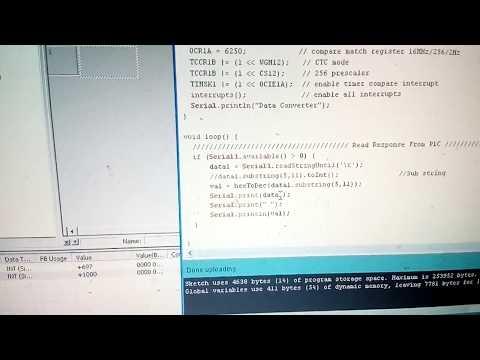 การอ่านค่าใน DM Omron PLC ด้วย Arduino Mega2560 - สามารถ โปร