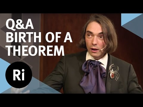 Q&A - Birth of a Theorem - with Cédric Villani