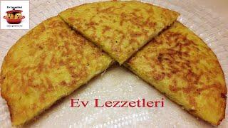 Tavada Patates Böreği Tarifi-Pratik Nefis Kahvaltılık Önerisi- Ev Lezzetleri