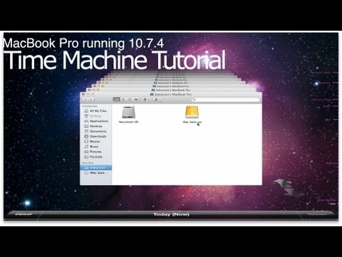 Time machine tutorial (recover specific apps, files/ migration assistant)