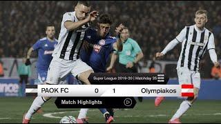 Τα στιγμιότυπα του ΠΑΟΚ-Ολυμπιακός - PAOK TV