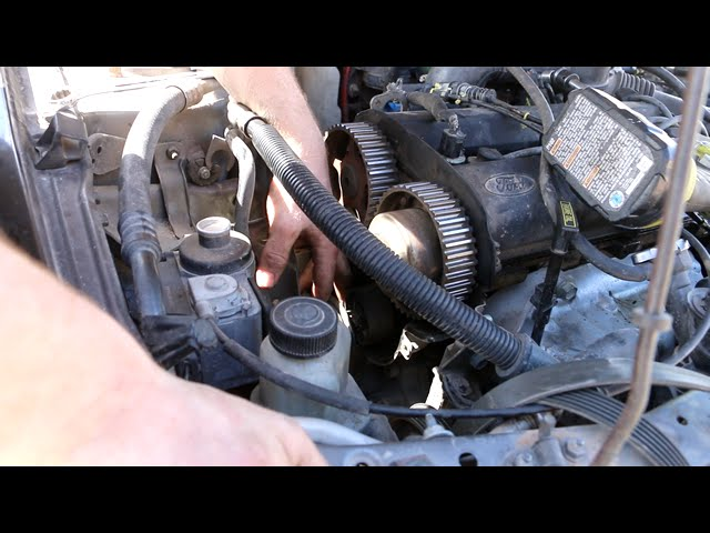 How To Replace Timing Belt On A Ford Escort Zx2 Youtube