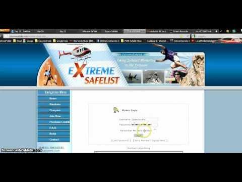 Dot Com Secrets x -Day 4 How I send my ads to safelist sites