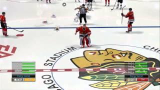 NHL 14 Goalie Fight!