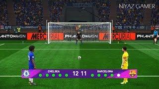 Chelsea vs Barcelona | Penalty Shootout | PES 2019 Gameplay PC
