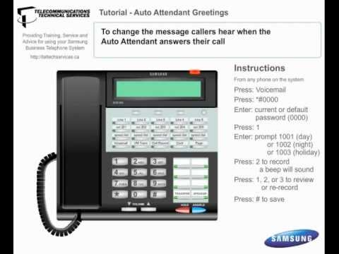 Voicemail auto attendant greetings business phone system youtube voicemail auto attendant greetings business phone system m4hsunfo