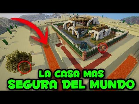 Minecraft la casa mas segura del mundo nadie podr - La casa mas segura del mundo ...