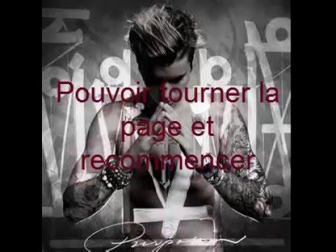 Karaoké Sorry Justin Bieber Français