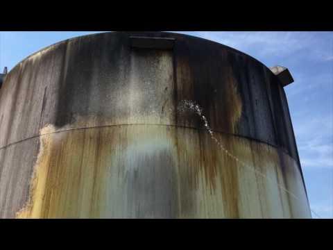 Fuel storage tank power washing | Pennsylvania