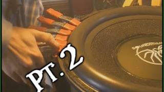 "Repairing Subwoofer Surrounds Pt. 2 | Strong & Speedy 18"" WOOFER Tutorial 