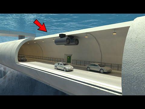 पानी के अन्दर बनाई गयी 07 सबसे अनोखे ब्रिज   07 Top Unusual Transformer Bridge