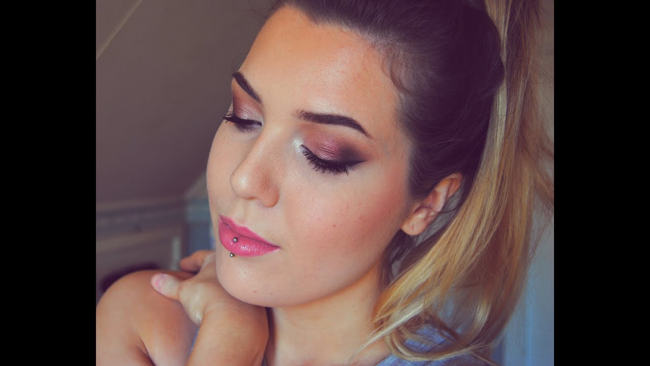 Makeup revolution flawless palette || Burgundy eyes/lila ...