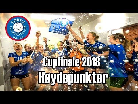 (D) Førde Voleyballklubb - Oslo Volley | Cupfinale | Høydepunkter