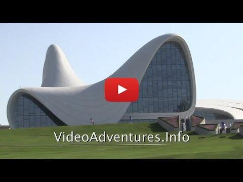 Heydar Aliyev Museum Baku Azerbaijan