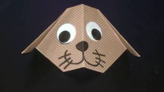 How To Make A Cute Origami Dog - Ep