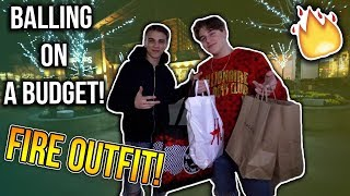 Buying an INSANE OUTFIT for CHEAP!! (Balling on a Budget) FT. MY BROTHER