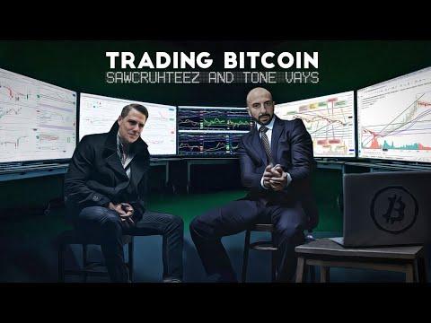 Trading Bitcoin W/ Sawcruhteez - Bitcoin, Traditional & Hyperwave