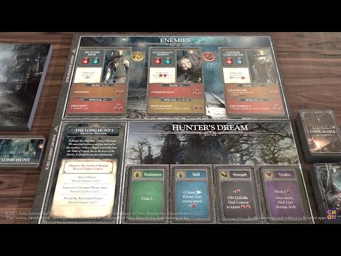 Enemy AI in Bloodborne: The Board Game