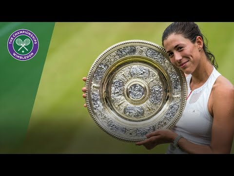 Garbiñe Muguruza wins Wimbledon - Virtual Reality Highlights