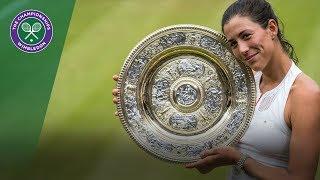 Garbiñe Muguruza wins Wimbledon - Virtual Reality Highlights thumbnail