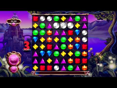 Bejeweled Live Classic Gameplay [Microsoft Surface RT]
