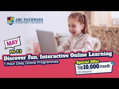 Discover New, Fun and Interactive Online Programme - ABC Pathways International Kindergarten Bangkok
