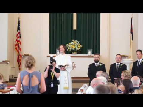 Emma & Ryan Stone Wedding July 2017