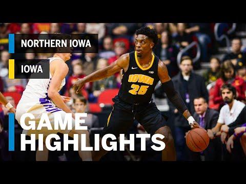 Highlights: Northern Iowa Vs. Iowa | Big Ten Basketball
