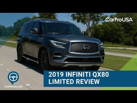 2019 Infiniti QX80 Limited Review