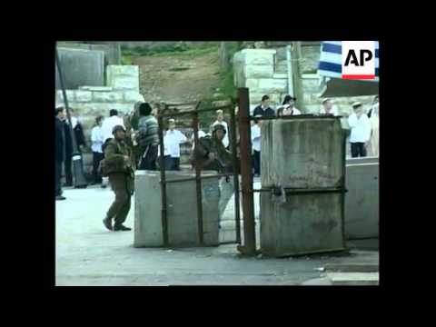 West Bank: Clashes: violent clashes in Hebron
