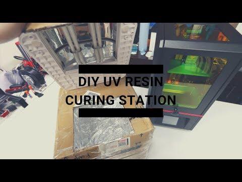 DIY $30 Curing Station for Resin 3D Prints