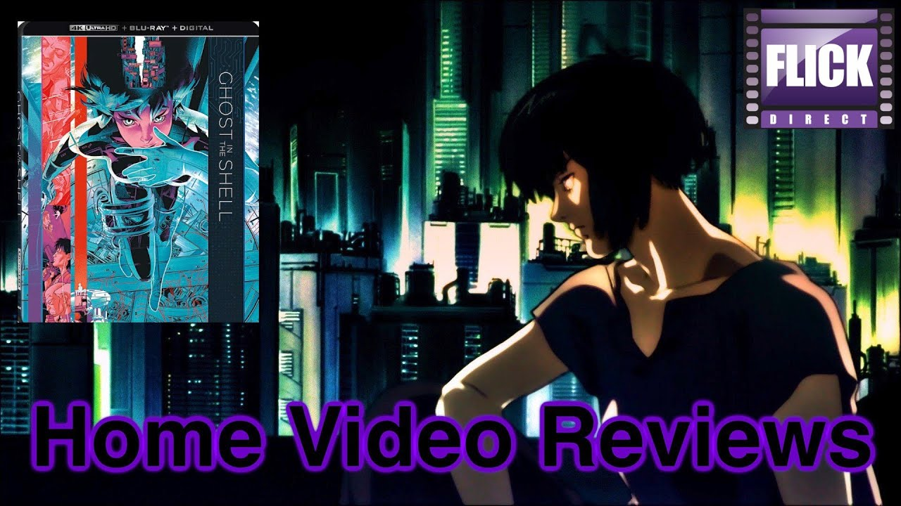 Ghost In The Shell 1995 4k Uhd Review Home Video Reviews Youtube