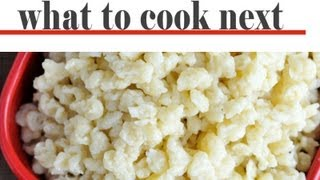 How To Make Spätzle/ Spaetzle Recipe, Flour Dumplings