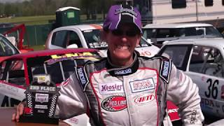 Riding in the Zone TV- Episode 1-Auto racer and track day rider Stephanie Funk