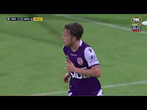 Perth Glory VS Newcastle Jets Round 10 201718 Highlights