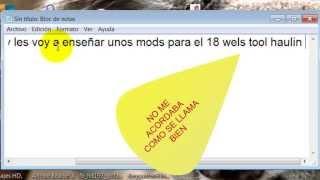 mods del 18 WoS Haulin- Colombia y traducción al español
