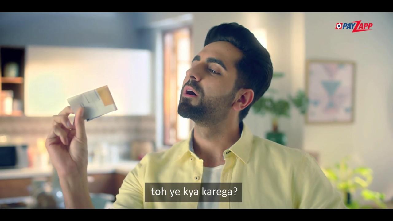 Ayushmann pays his utility bills through PayZapp  Get to know why!