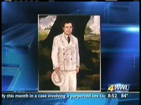 WWL-TV interview with Jacques Rodrigue on Blue Dog Exhibit at LSU