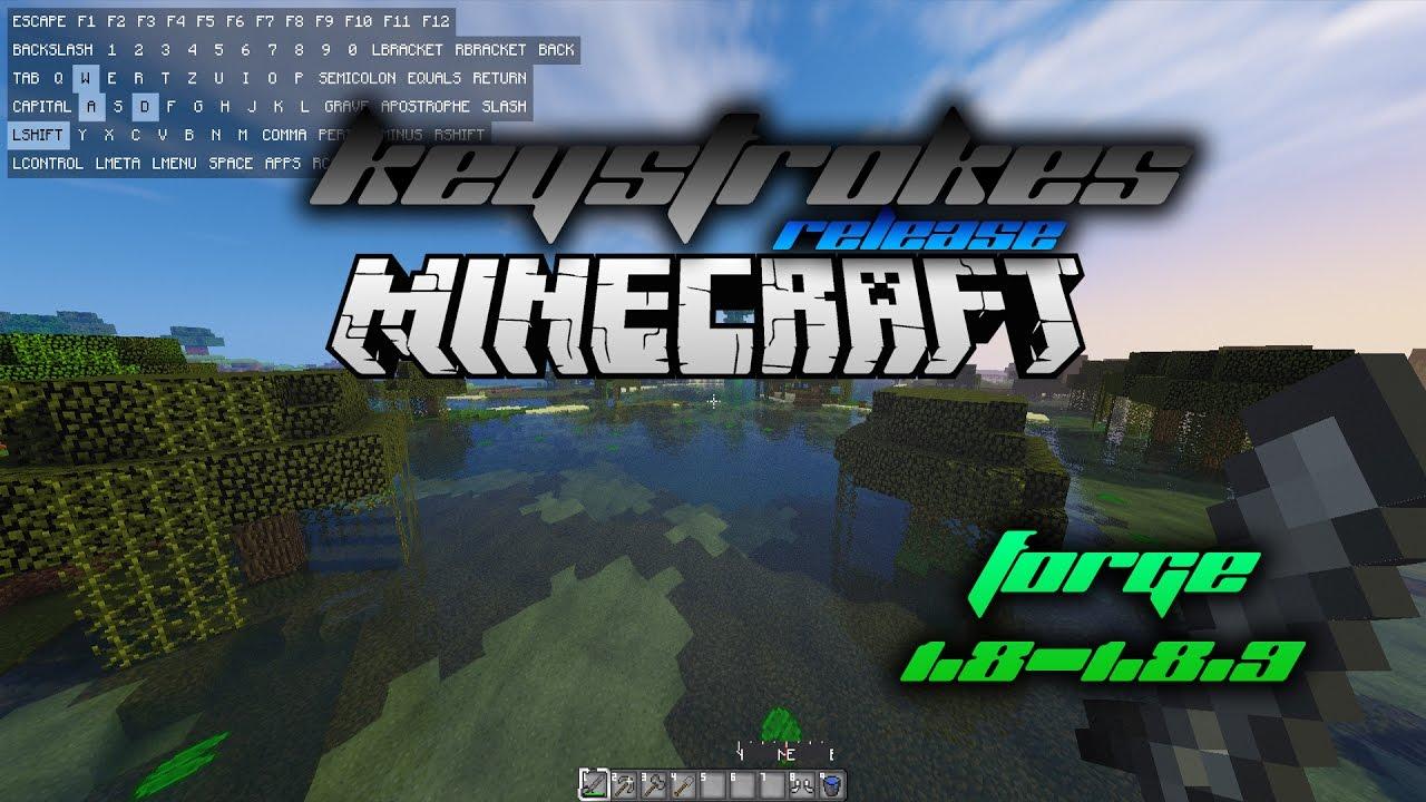 KeystrokesMod v3 1 8 1 8 9 FORGE RELEASE YouTube