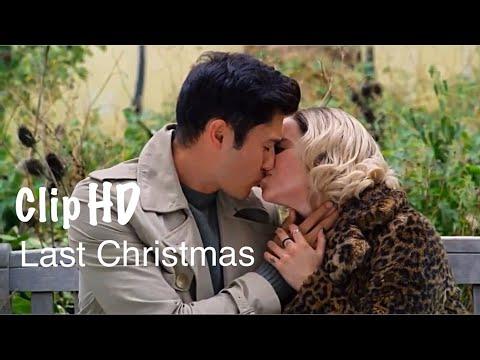 LAST CHRISTMAS- Kisses Scene | Emilia Clark & Henry Golding
