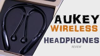 Aukey Wireless Headphones Quick Review   Great & Affordable
