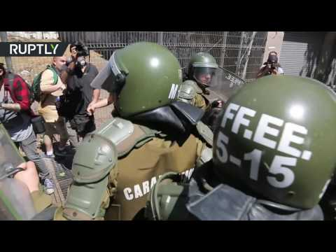 Protest in support of Mapuche people ends in violent clashes with police in Chile