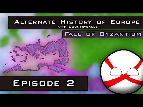 Alternate History of Europe with Countryballs | Fall of Byzantium | Episode 2: New Rome