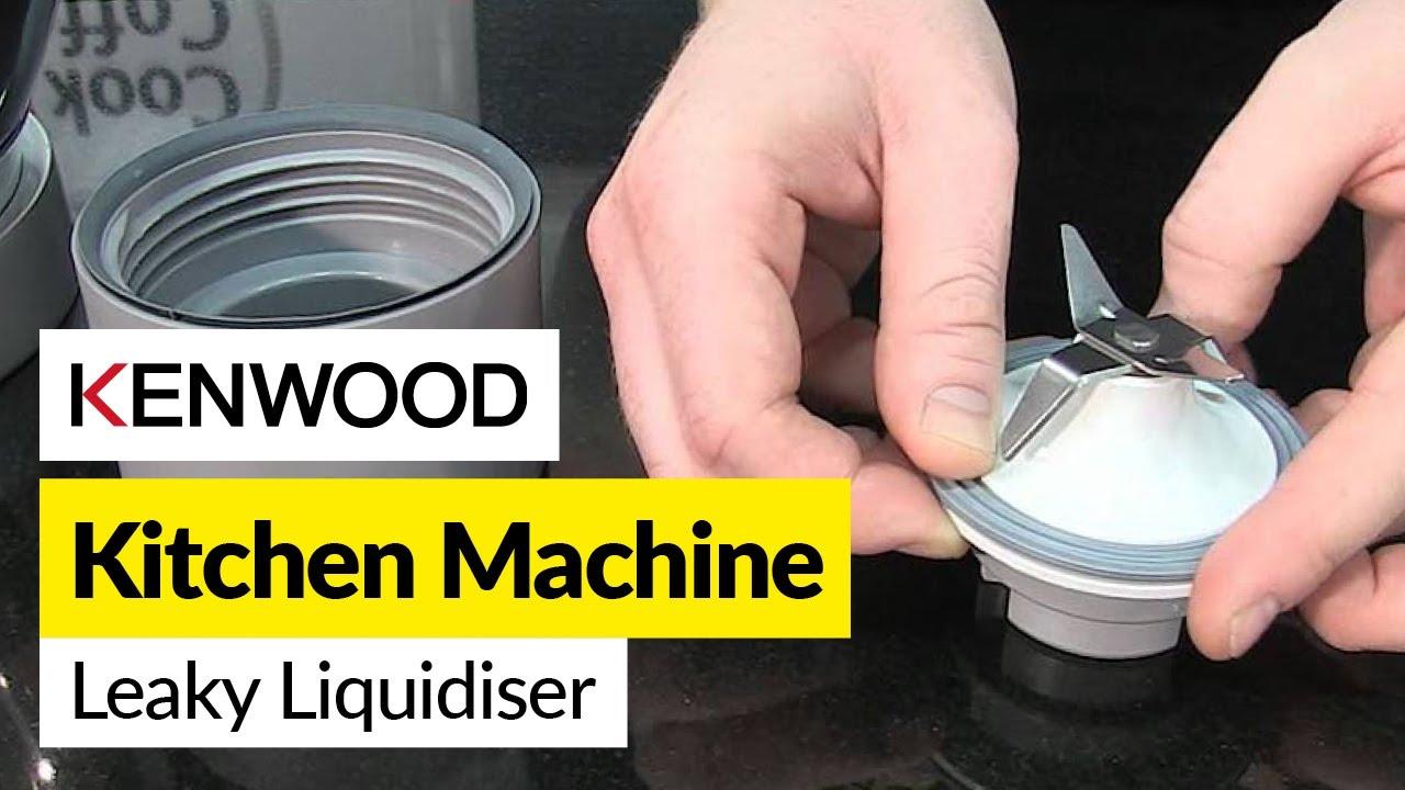 How to fix a leak on your liquidiser- Kenwood - YouTube