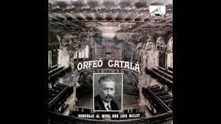 Orfeó Català - La Mort De L'Escolà - EP 1959