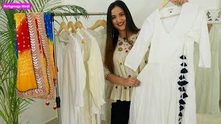 Different White कुर्तियाँ और उनकी Style Tips | My White Kurtis Collection #Insidemywardrobe