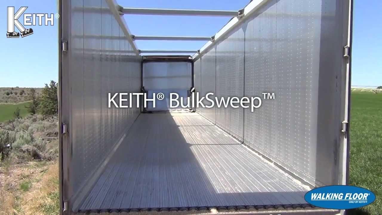 KEITH® WALKING FLOOR® BulkSweep™ Sweep System